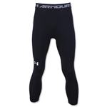 Under Armour HeatGear Armour Compression 3/4 Legging (Black)