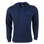 Under Armour Rival Cotton Full-zip Hoody (Navy/Royal)