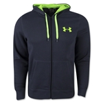 Under Armour Rival Cotton Full-zip Hoody (Gray/Green)