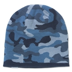 Under Armour Reversible Camo Beanie (Blue)