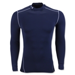 Under Armour ColdGear Armour Compression Mock Top (Navy)