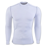 Under Armour ColdGear Armour Compression Mock Top (White)