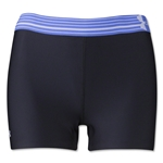 Under Armour HeatGear Armour Compression 3 Women's Shorty (Blk/Pur)