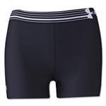 Under Armour HeatGear Armour Compression 3 Women's Shorty (Blk/Wht)