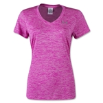 Under Armour Tech Dope Dye V-Neck T-Shirt (Pink)