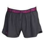 Under Armour Women's Play Up Short (Gray)