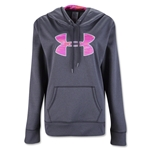 Under Armour Storm Armour Fleece Big Logo Women's Hoody (Dk Grey)