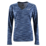 Under Armour Tech Space Dye Long Sleeve T-Shirt (Purple)