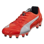 PUMA evoSPEED 1.4 Leather FG (Lava Blast/White/Total Eclipse)