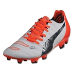 Puma evoPower 2.2 FG (White/Total Eclipse/Lava Blast)