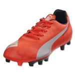 PUMA evoSPEED 5.4 FG Junior (Lava Blast/White/Total Eclipse)