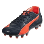 PUMA evoSPEED 3.4 Leather FG (Total Eclipse/Lava Blast/White)