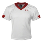 Under Armour Stock Toli Jersey (White/Red)