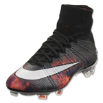 Nike Mercurial Superfly CR FG (Black/White/Bright Crimson)