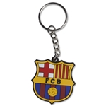 Barcelona Rubber Key Chain