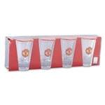 Manchester United 4-Pack Shot Glass