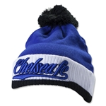 Chelsea Ribbed Text Beanie