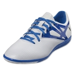 adidas Messi 15.3 IN (White/Prime Blue/Black)