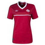 Canada 2015 Women's Home Soccer Jersey