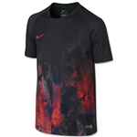 Nike Boys Flash CR7 Top (Black/Red)