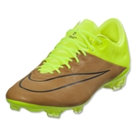 Nike Mercurial Vapor X Leather FG (Canvas/Black/Volt)