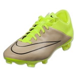 Nike Mercurial Veloce II Leather FG (Canvas/Black/Volt)