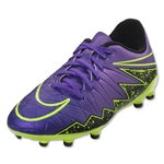 Nike Junior Hypervenom Phelon II FG (Hyper Grape/Black)