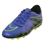 Nike Junior Hypervenom Phade II FG-R (Hyper Grape/Black)