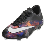 Nike Junior Mercurial Victory V CR FG (Black/White/Total Crimson)