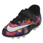 Nike Junior Mecurial Vortex 2 CR FG (Black/White/Total Crimson)