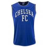 Chelsea Sleeveless Poly Panel T-Shirt