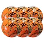 Select Futsal Jinga 2015 Senior 6 Pack Ball (Orange)
