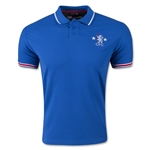 Chelsea Contrast Back Retro Polo
