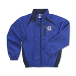 Chelsea Youth Crest Jacket (Royal)