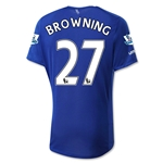 Everton 15/16 BROWNING Home Soccer Jersey