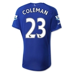Everton 15/16 COLEMAN Home Soccer Jersey