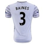 Everton 15/16 BAINES Away Soccer Jersey