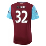West Ham 15/16 BURKE Home Soccer Jersey