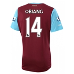 West Ham 15/16 OBIANG Home Soccer Jersey