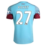 West Ham 15/16 PAYET Away Soccer Jersey