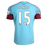 West Ham 15/16 SAKHO Away Soccer Jersey