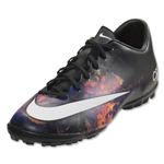 Nike Mercurial Victory V CR TF (Black/White/Total Crimson)
