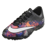 Nike Junior Mercurial Victory V CR TF (Black/White/Total Crimson)