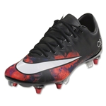 Nike Mercurial Vapor X CR SG-Pro (Black/White/Total Crimson)