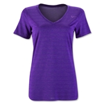 Nike V-Neck Legend Veneer T-Shirt (Purple)