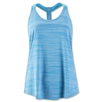 Nike Elastika Heather Tank (Blue)