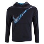 Nike YA76 BF GFX OTH Youth Hoody (Black/Sky)