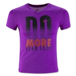 Nike Legend V-Neck Verbiage Youth T-Shirt (Purple)