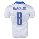 Italy 15/16 MARCHISIO Away Soccer Jersey