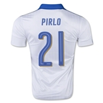 Italy 15/16 PIRLO Away Soccer Jersey